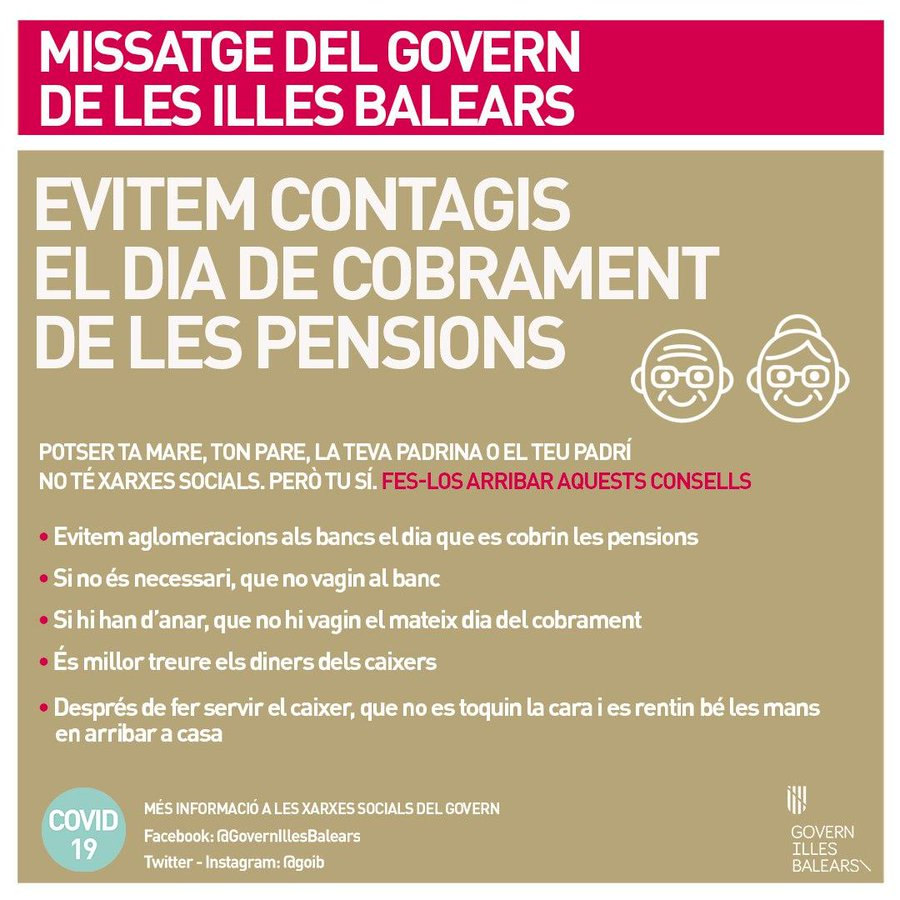 COBRAMENT DE LES PENSIONS